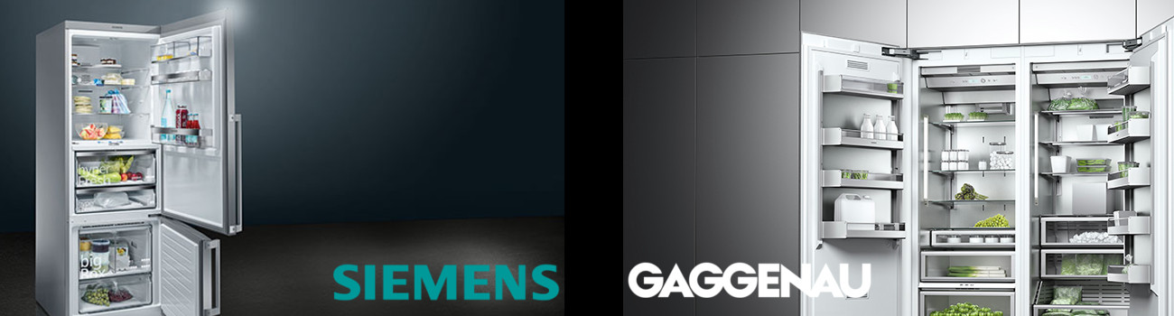 Siemens 及 Gaggenau 雪櫃