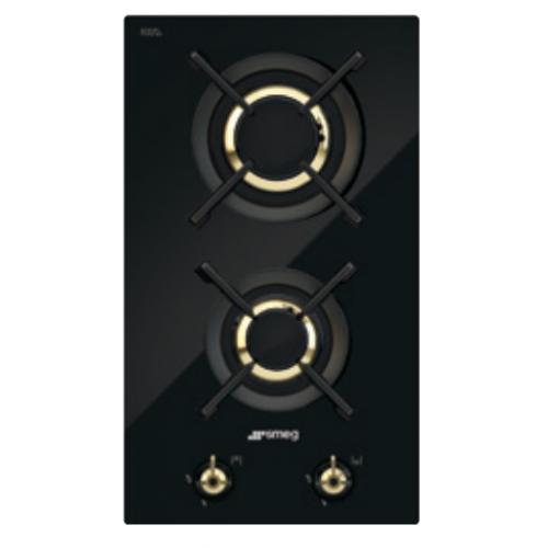 SMEG PC32GNOT1 30厘米 嵌入式雙頭煤氣煮食爐