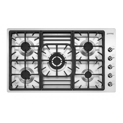 SMEG PGF95TG1 90厘米 嵌入式五頭煤氣煮食爐