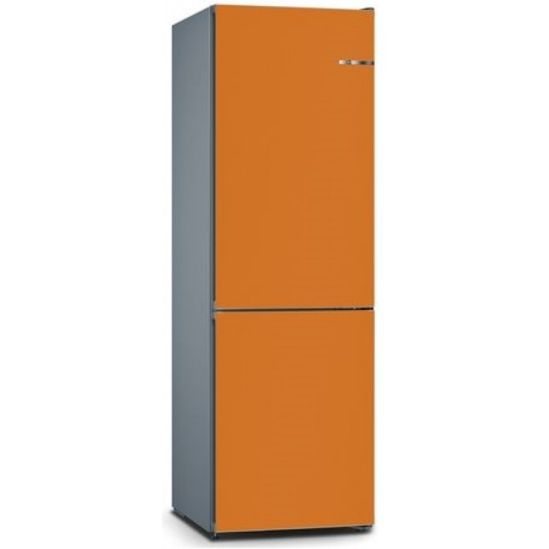 bosch kvn36io3ak orange vario style 324l free standing. Black Bedroom Furniture Sets. Home Design Ideas
