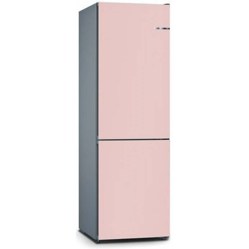 bosch kvn36ip3ak light rose vario style 324l free standing fridge freezer. Black Bedroom Furniture Sets. Home Design Ideas