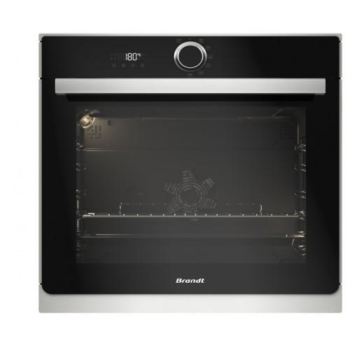 BRANDT 白朗 BXC6537XS 73升 嵌入式電焗爐(附有免清洗面板)