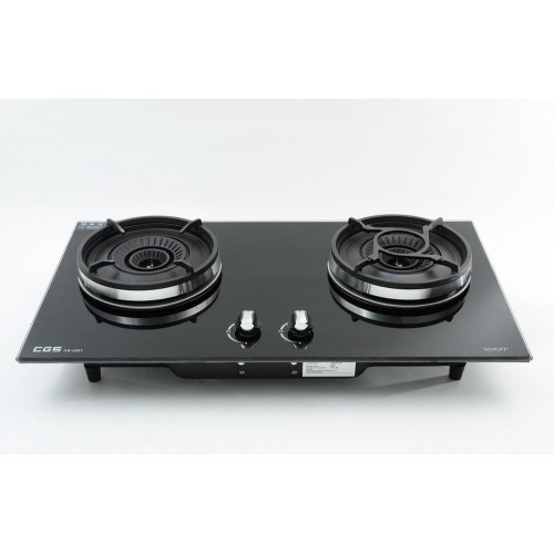 Crown CB-2801B(LPG) Built-in Double Burner LP Gas Hobs