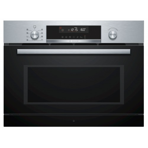 BOSCH 博世 CPA565GS0B 36公升 45厘米嵌入式微波蒸氣烤焗爐