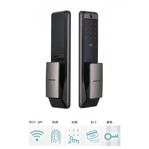 Samsung 三星 SHPDP609ASVKW智能門鎖(銀色)(WIFI.指紋.感應卡.密碼)