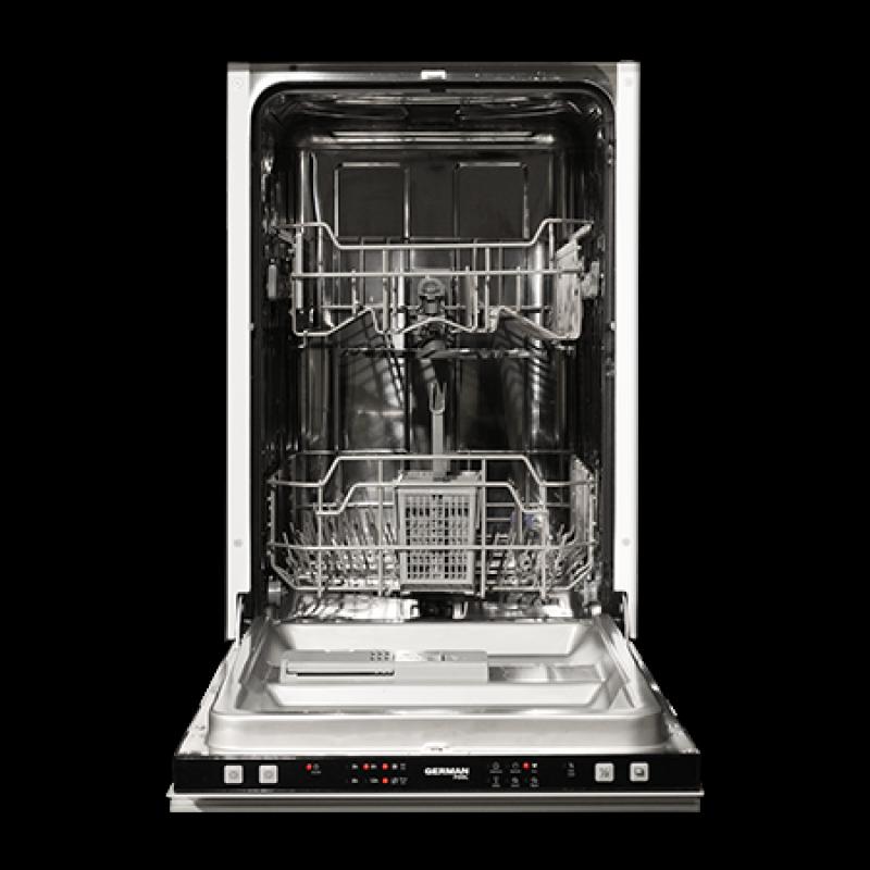 German Pool Dwh 121 45cm Slim Line Built In Dishwasher