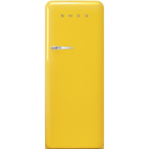 SMEG FAB28RYW4UK 257公升 50年代復刻雪櫃 (黃色)