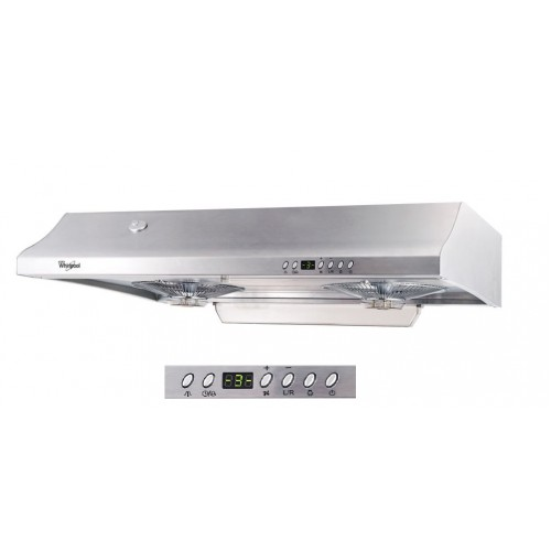 WHIRLPOOL HC768S 71CM AUTO WASHED COOKERHOOD