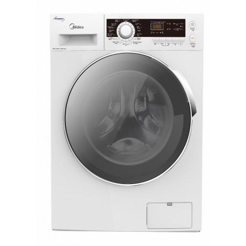 MIDEA 美的 MFG80D14 8/6公斤1400轉 二合一薄身變頻洗衣乾衣機