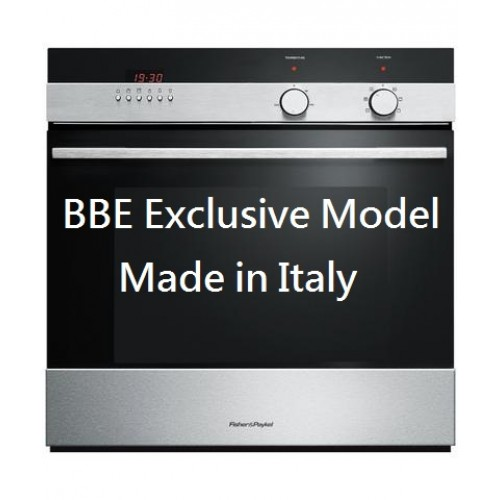 FISHER & PAYKEL OB60SCEX4 60cm Single Built-in Oven(Display model)