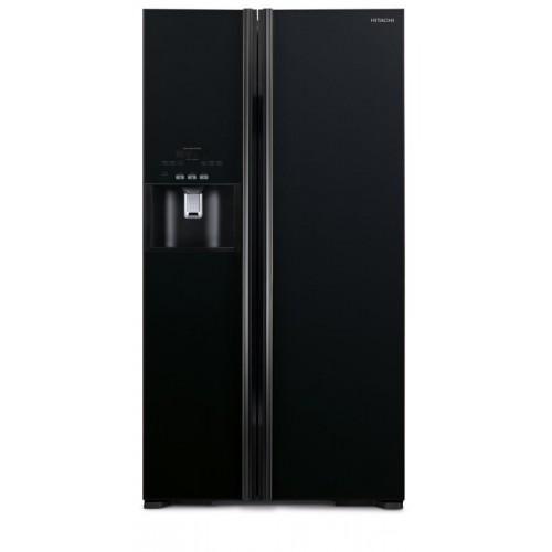 HITACHI  R-S700GP2H (Glass Black Color)  573L Side By Side Refrigerator