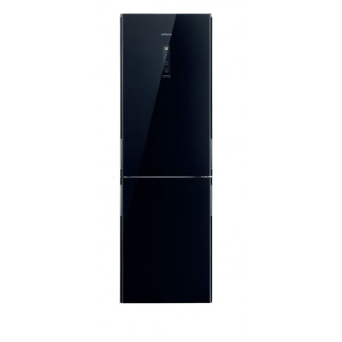 HITACHI 日立 RBX380PH9 GBK 312公升 底層冷藏式雙門雪櫃(黑影玻璃色)