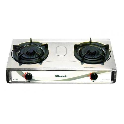 RASONIC RG30S(LPG) Table Top Gas Cooker (Double burners)