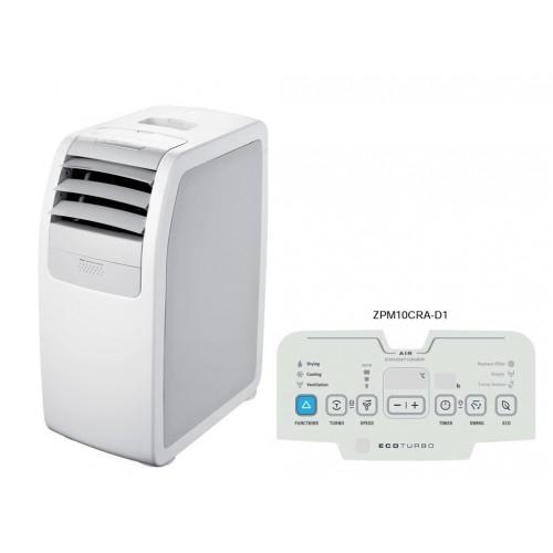 ZANUSSI 金章 ZPM10CRAD1 1匹 淨冷移動式空調