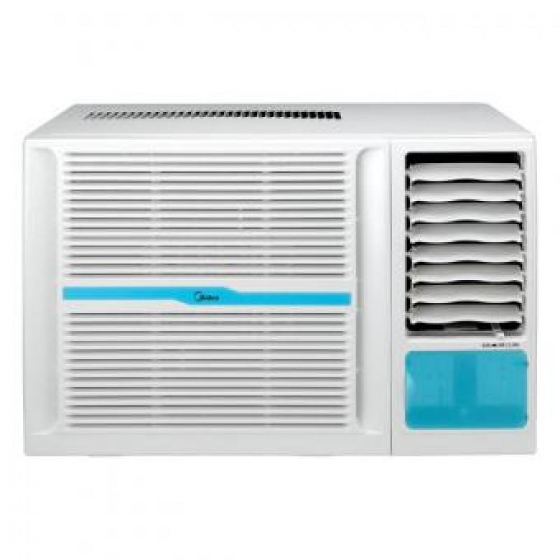 Midea mwh 18hr3u1 2hp window type air conditioner heat for 18000 btu heat pump window unit