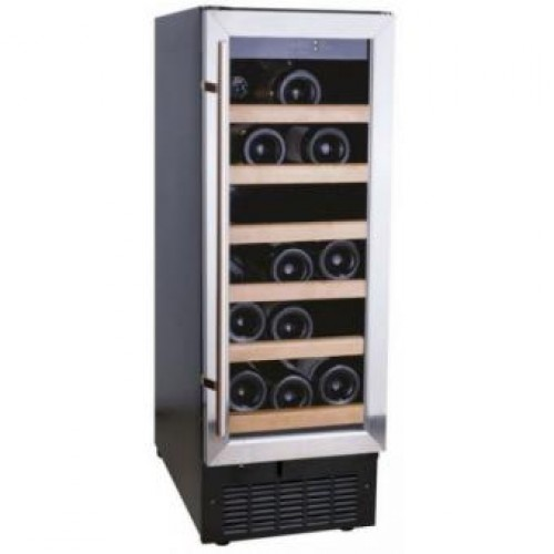 CRISTAL CW-18B Single Temperature Zone Wine Cooler (18 Bottles)