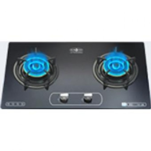 Hibachi HY-288 LPG 75cm Built-in 2-Burner LP Gas Hob