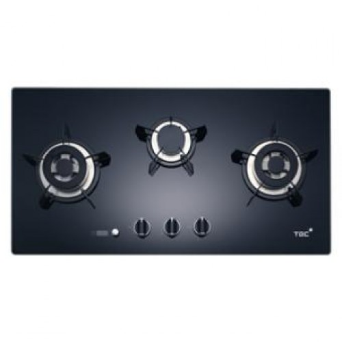 TGC TRTB83ST-G 80 Built-in 3-Burner Town Gas Hob