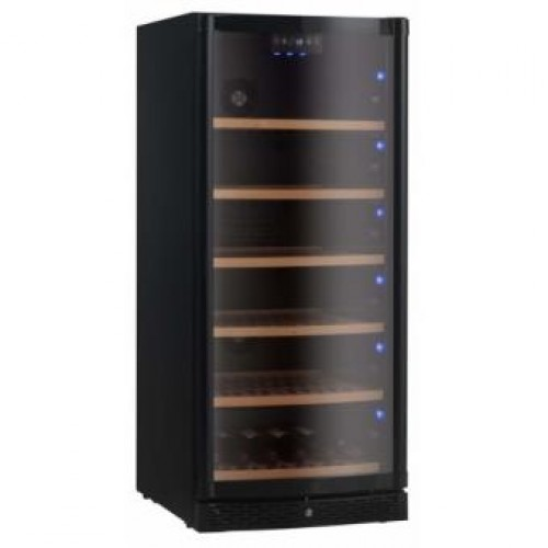VINVAUTZ VZ120BHK   Single Temperature Zone Wine Cooler 120Bottles