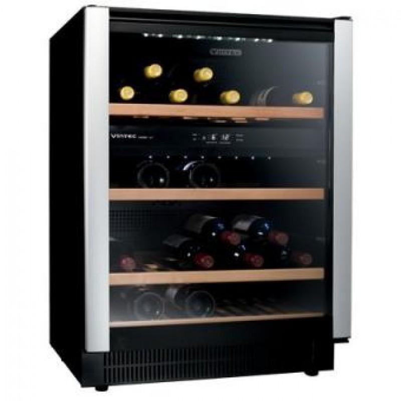 Vintec Alv40sg2e Double Temperature Zone Wine Cooler 40