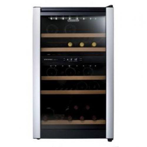 Vintec   ALV30SG2E   Double Temperature Zone Wine Cooler (32 Bottles)