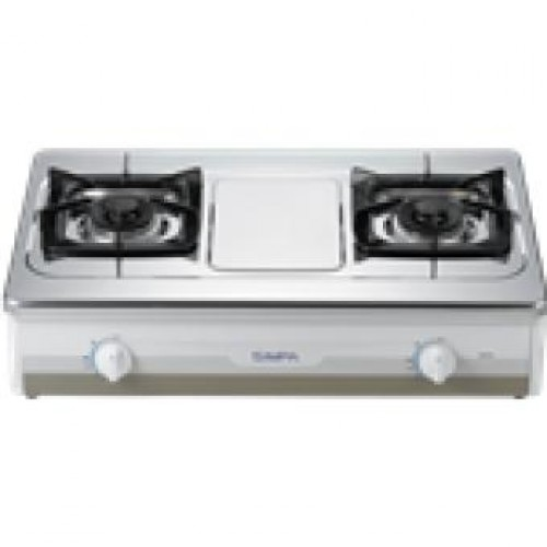 SIMPA SRTH2 Double Burner Hotplate