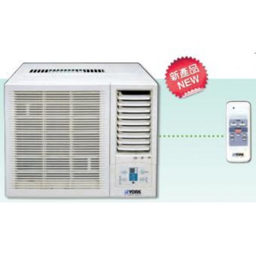 YORK  YHUEE07C5RIII   3/4HP Window Type Air Conditioner (HEAT-PUMP REMOTE TYPE)