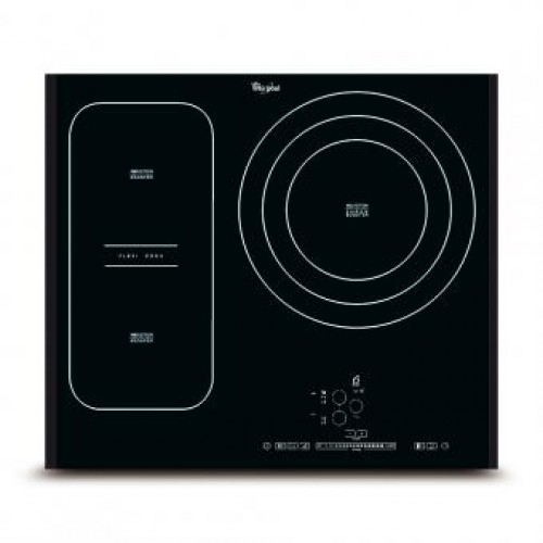 WhirlPool ACM845/BH 3 Head Induction Hob with FlexiCook