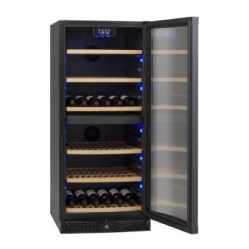 VINVAUTZ VZ110BDHK DOUBLE TEMPERTURE ZONE WINE COOLER(110 BOTTLES)