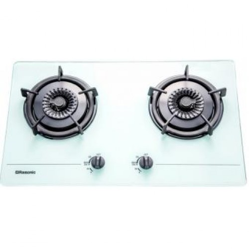 Rasonic RG-223GW TG Built-in 2-Burner Town Gas Hob
