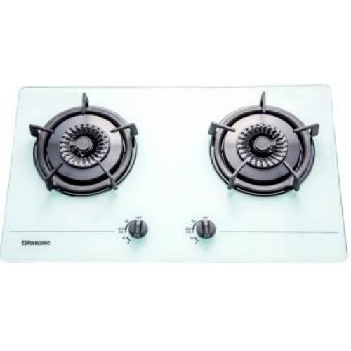 Rasonic 樂信 RG-223GW LPG 雙頭嵌入式煤氣煮食爐