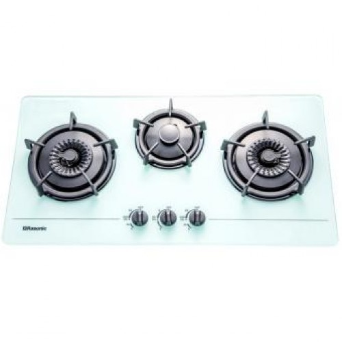 Rasonic RG-323GW LPG Built-in 3-Burner Town Gas Hob