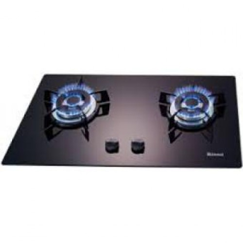 Rinnai RRTB62S-G-LP Glass Top Two Burners Built-in Hob