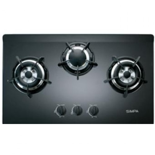 SIMPA SRJB73S Three Burners Built-in Hob