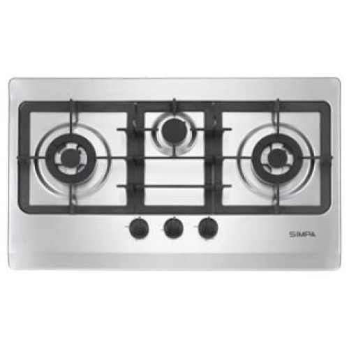 SIMPA SRDB63S Three Burners Built-in Hob