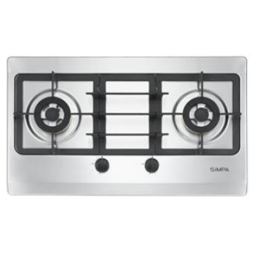 SIMPA SRDB62S Stainless Steel Built-in Hob