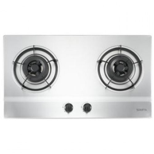 SIMPA SHZB62S Stainless Steel Built-in Hob