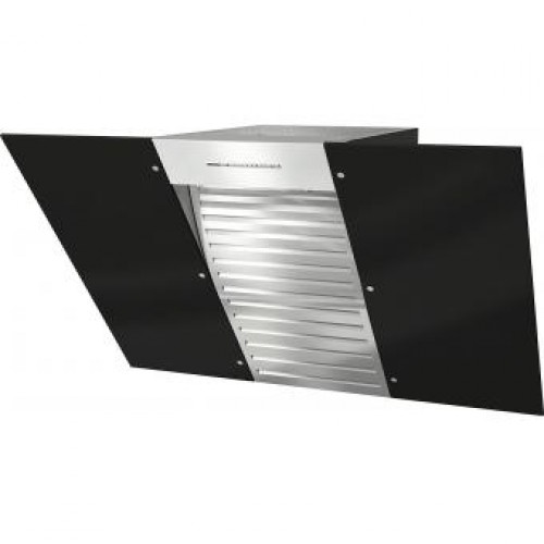Miele DA6096W Black Wing Inclined Chimney Hood