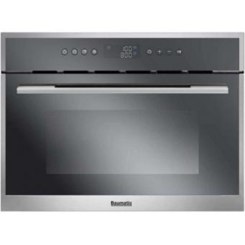 Baumatic BMC470SS 35L Built-in Microwave Oven with Grill