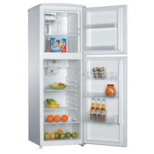 尼斯 V255MW 245公升 頂層冷凍式雙門雪櫃 (白色)