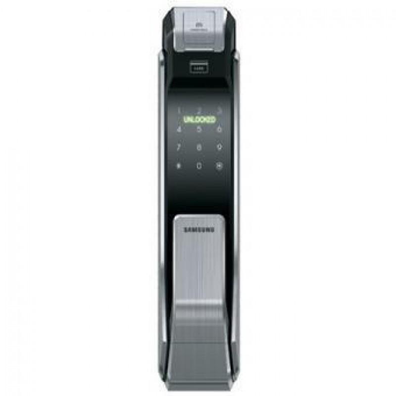 Samsung Shs P718lmken Smart Door Lock Silver