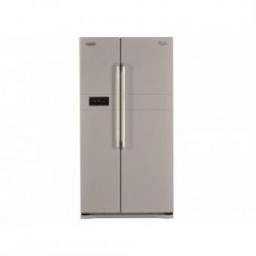 WHIRLPOOL 惠而浦 WSX621MS 570公升 第六感智能溫度控制系統 對門式雪櫃