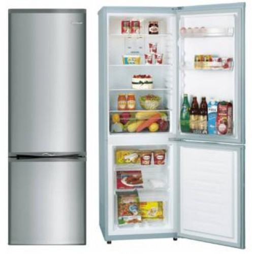 WHIRLPOOL WB251RIX 224L (RIGHT) BOTTOM-FREEZER DOUBLE DOOR REFRIGERATOR