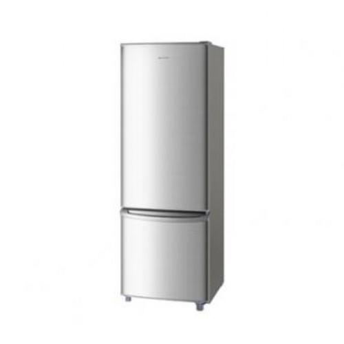 Panasonic 樂聲 NR-BT266M 263 公升 雙門底層冷凍式雪櫃(幻影鋼色)