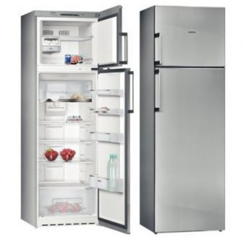 SIEMENS KD32NVI20K 309L STAINELESS STEEL ANTI-FINGERPRINT DOOR TOP-FREEZER REFRIGERATOR