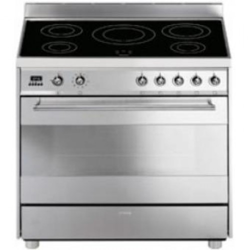SMEG C9IMX-2 Free-Standing 90cm Induction Hob With 119L Multifunction Oven