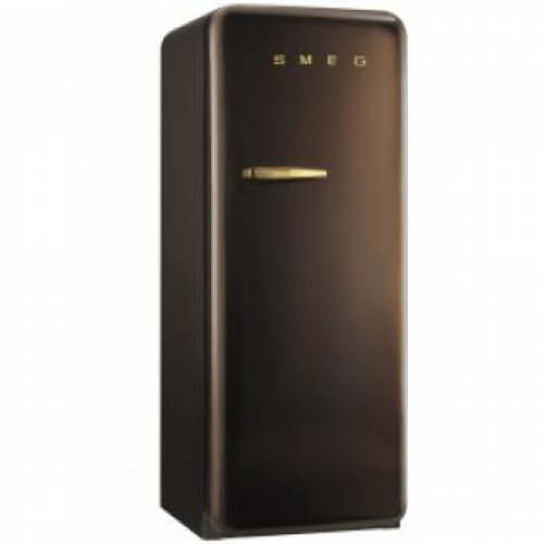 SMEG FAB28RCG1 248公升 單門雪櫃 (巧克力色)