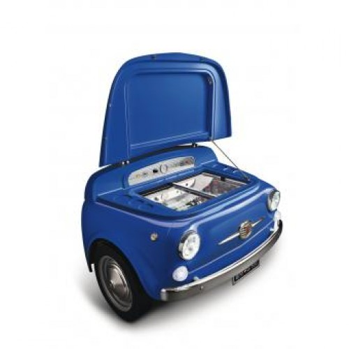 SMEG SMEG500BL 100公升 迷你吧櫃 (藍色)