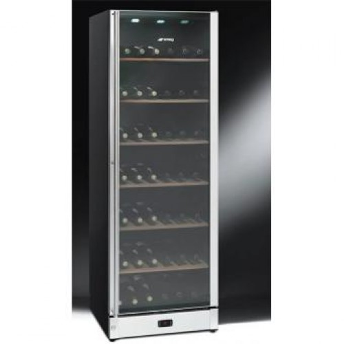 SMEG SCV115-1 368L Two Temperature Zone Wine Cooler (198 bottles)