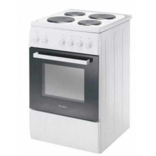 Candy CCE5200W 50cm 4-zone Hob with 42L Electric Oven